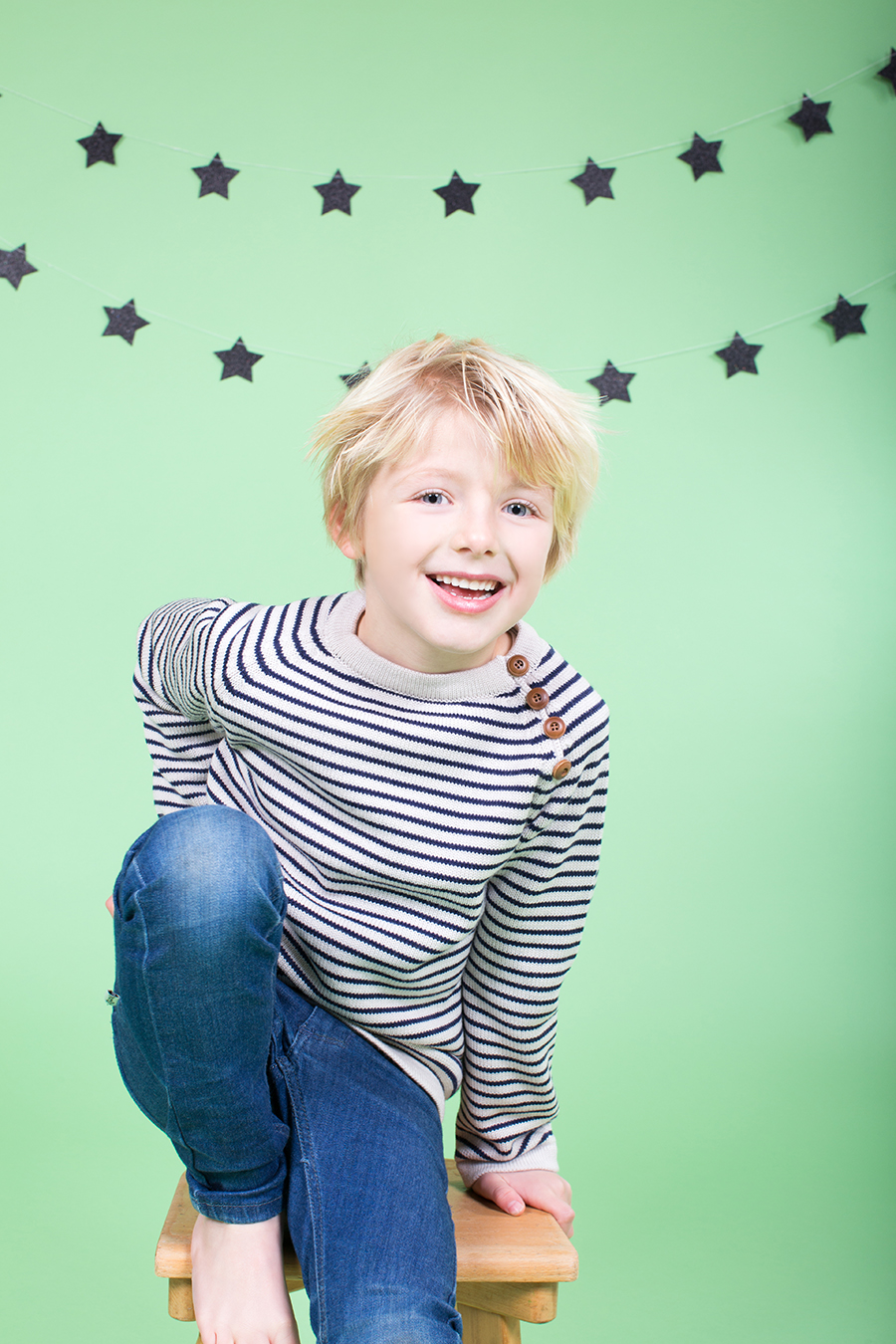 Kinderfotografie in Studio