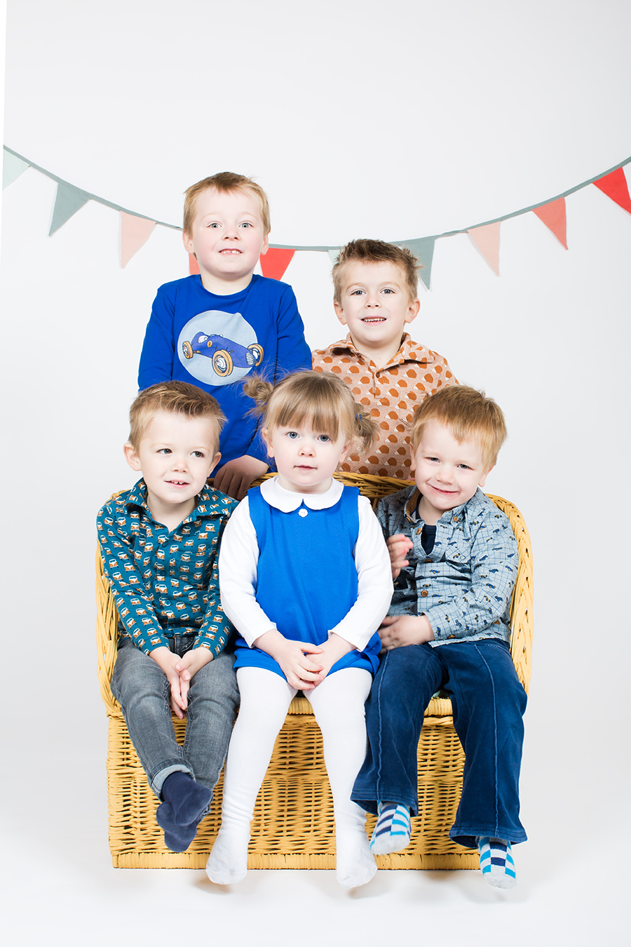Familiefotografie in studio
