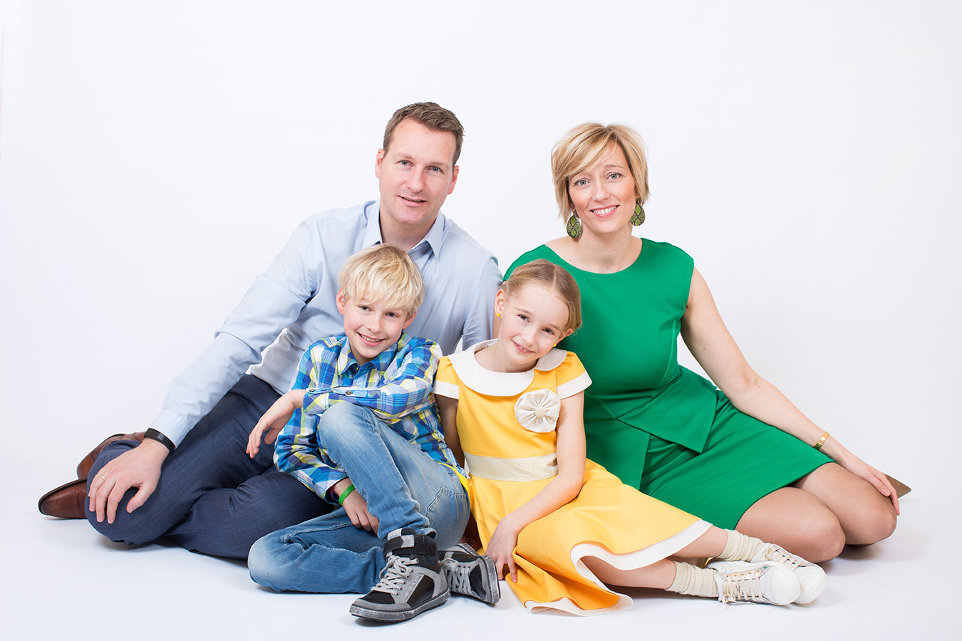 Familieshoot studio